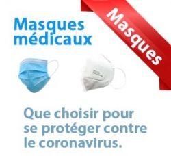 Masque site web